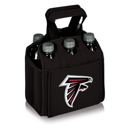Atlanta Falcons Black Six Pack Cooler Tote