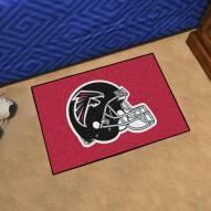 Atlanta Falcons Black Starter Rug