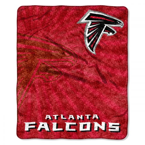 Atlanta Falcons Burst Sherpa Blanket