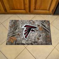 Atlanta Falcons Camo Scraper Door Mat