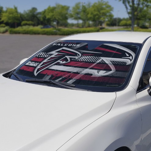 Atlanta Falcons Car Sun Shade