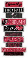 Atlanta Falcons Celebrations Stack Sign