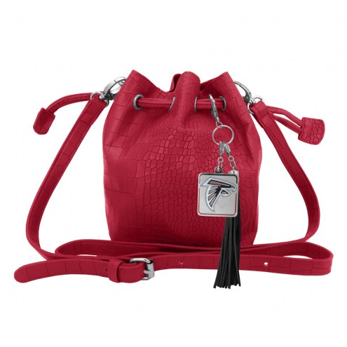 Atlanta Falcons Charming Mini Bucket Bag