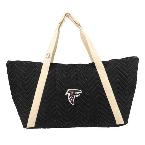 Atlanta Falcons Chevron Stitch Weekender Bag