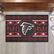 Atlanta Falcons Christmas Sweater Starter Rug