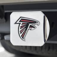 Atlanta Falcons Chrome Color Hitch Cover