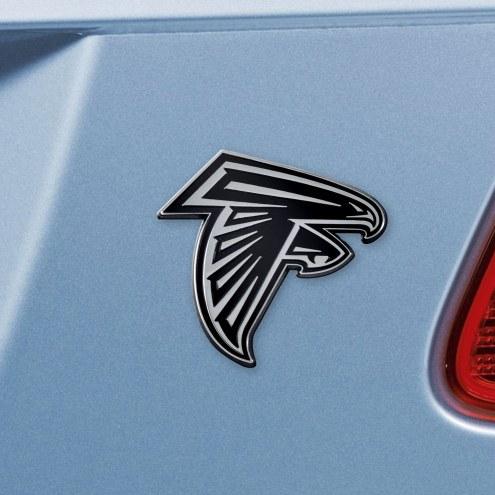 Atlanta Falcons Chrome Metal Car Emblem