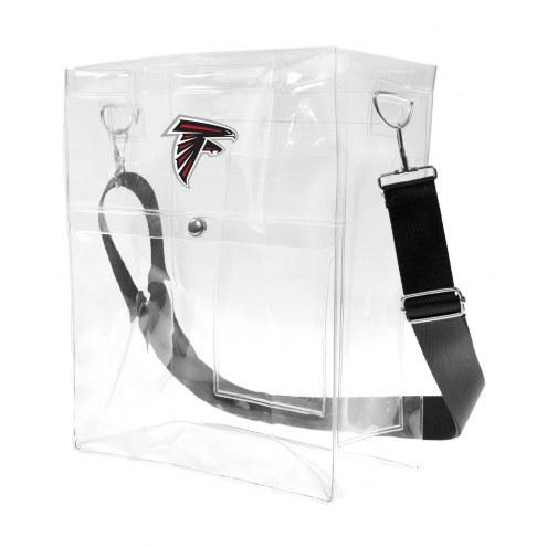Atlanta Falcons Clear Ticket Satchel