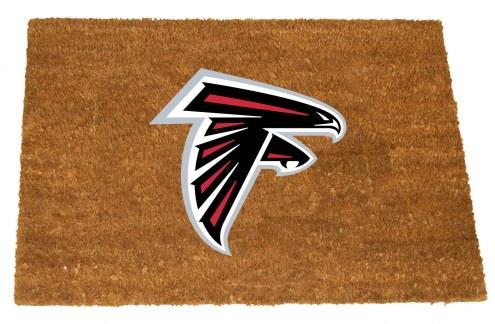 Atlanta Falcons Colored Logo Door Mat