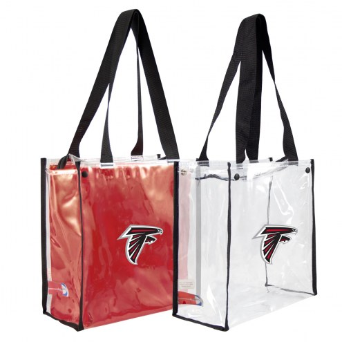 Atlanta Falcons Convertible Clear Tote