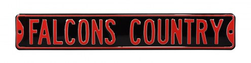 Atlanta Falcons Country Street Sign