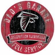 Atlanta Falcons Dad's Garage Sign