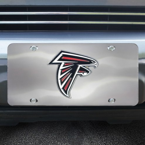 Atlanta Falcons Diecast License Plate