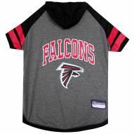 Atlanta Falcons Dog Hoodie Tee