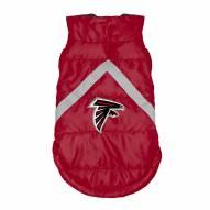 Atlanta Falcons Dog Puffer Vest