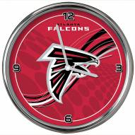 Atlanta Falcons Dynamic Chrome Clock