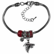 Atlanta Falcons Euro Bead Bracelet