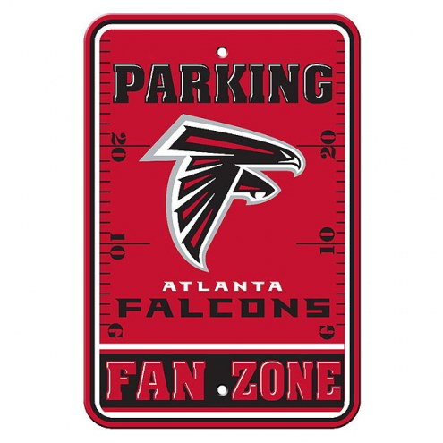 Atlanta Falcons Fan Zone Parking Sign