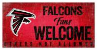 Atlanta Falcons Fans Welcome Sign
