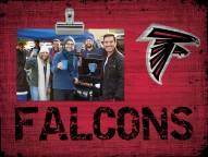 Atlanta Falcons Wood Clip Frame
