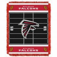 Atlanta Falcons Field Baby Blanket
