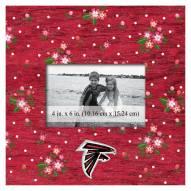 "Atlanta Falcons Floral 10"" x 10"" Picture Frame"