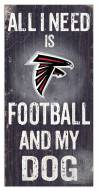 Atlanta Falcons Football & My Dog Sign