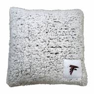 Atlanta Falcons Frosty Throw Pillow