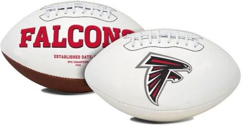 Atlanta Falcons Full Size Embroidered Signature Series Football