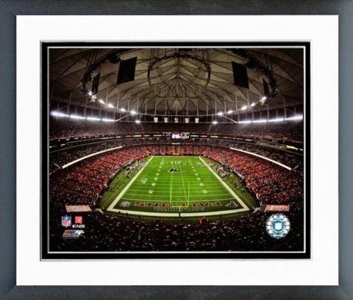 Atlanta Falcons Georgia Dome 2008 Framed Photo