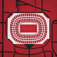 Atlanta Falcons Georgia Dome Stadium Print