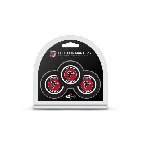 Atlanta Falcons Golf Chip Ball Markers
