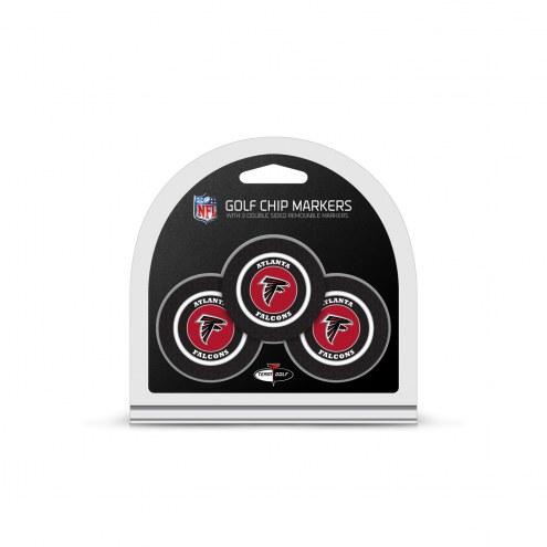 Atlanta Falcons Golf Chip Ball Markers