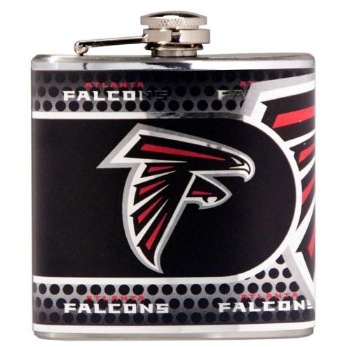 Atlanta Falcons Hi-Def Stainless Steel Flask