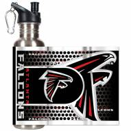 Atlanta Falcons Hi-Def Stainless Steel Water Bottle