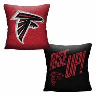 Atlanta Falcons Invert Woven Pillow