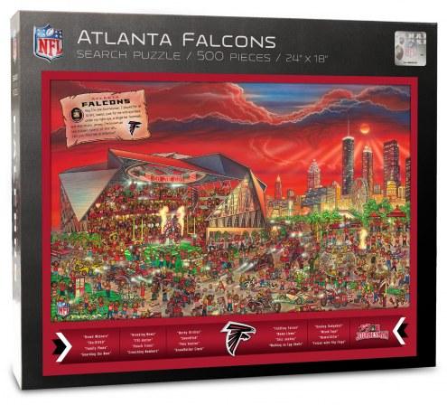 Atlanta Falcons Joe Journeyman Puzzle