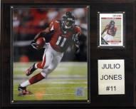 "Atlanta Falcons Julio Jones 12 x 15"" Player Plaque"
