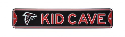 Atlanta Falcons Kid Cave Street Sign