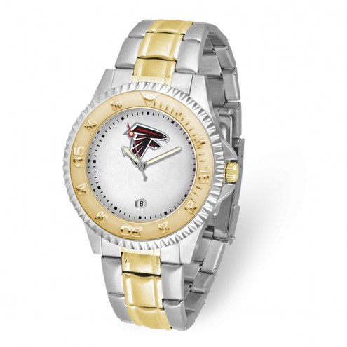 Atlanta Falcons Competitor Two-Tone Men's Watch