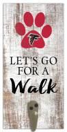Atlanta Falcons Leash Holder Sign