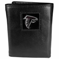 Atlanta Falcons Leather Tri-fold Wallet