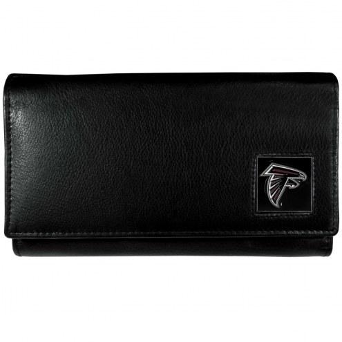 Atlanta Falcons Leather Women's Wallet