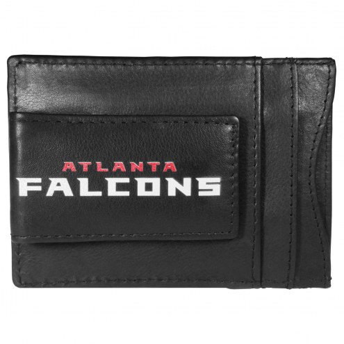 Atlanta Falcons Logo Leather Cash and Cardholder