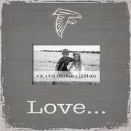 Atlanta Falcons Love Picture Frame