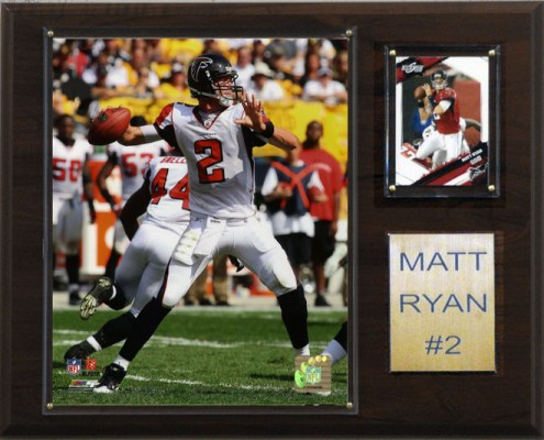 "Atlanta Falcons Matt Ryan 12 x 15"" Player Plaque"