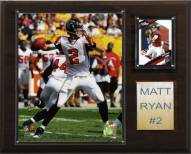 "Atlanta Falcons Matt Ryan 12 x 15"" Player Plaque"