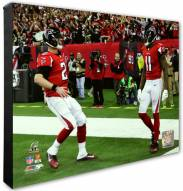 Atlanta Falcons Matt Ryan & Julio Jones 2016 NFC Championship Game Photo