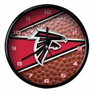 Atlanta Falcons Football Clock