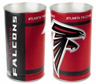 Atlanta Falcons Metal Wastebasket